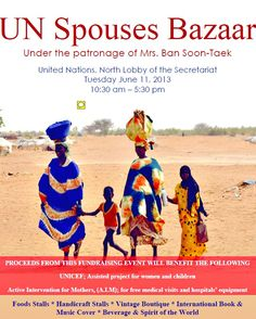 Show Up and Shop for Good at the UN Spouses Bazaar