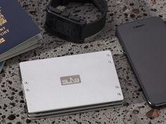SLAB Travel Wallet - The Safe, Organized Way to Carry Cash by Vladimir Pashkov
