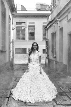 Chiara Ferragni se viste de novia (otra vez) para Pronovias