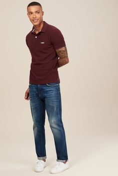 Buy Superdry Classic Pique Poloshirt from the Next UK online shop Next Uk, The Next, Superdry, Uk Online, Xmas, Classic, Red, Pants, Stuff To Buy