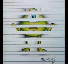 Drawing monstres...