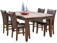 Slumberland  Woodwyn Collection  Med Oak Counter Dining Table Pleasing Slumberland Dining Room Sets Decorating Inspiration