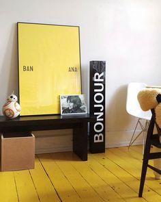 BANANA #redecorating #bb8 #playtype #bxxlght