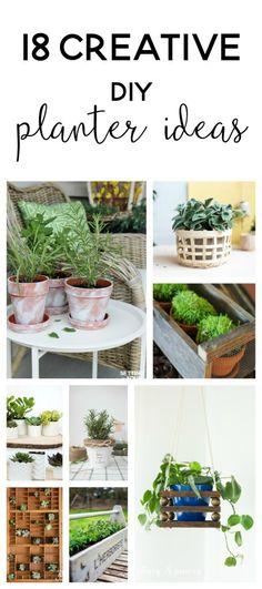 diy planters | diy p