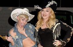 Madonna pode ter gravado dueto com Miley Cyrus para seu novo álbum