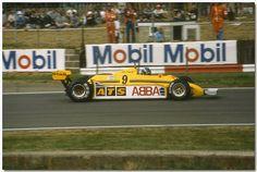 Slim Borgudd ATS HGS1 F1 1981 British GP Silverstone   Flickr - Photo Sharing!