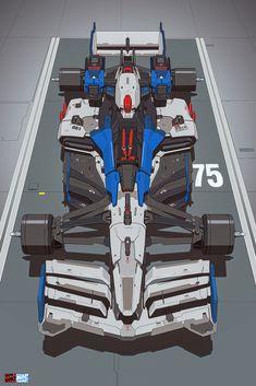 Gundam Wallpapers, Animes Wallpapers, Robot Concept Art, Concept Cars, Desu Desu, Gundam Art, Futuristic Cars, Mechanical Design, Motorcycle Design