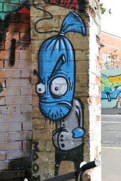 Street art   Mural by 3Dom
