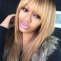 Mixed chicks, Fashion hairstyles and Blondes on Pinterest