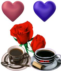 Good Morning Beautiful Flowers, Beautiful Love Pictures, Beautiful Rose Flowers, Beautiful Flowers Wallpapers, Coffee Gif, Coffee Images, I Love Coffee, Morning Gif, Morning Quotes
