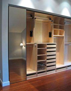 Trendy Ideas For Closet Pequeno Quartos Interior Design Wardrobe Design Bedroom, Bedroom Wardrobe, Wardrobe Closet, Master Closet, Wardrobe Ideas, Closet Ideas, Wardrobe Organisation, Closet Organization, Storage Closets