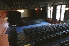 The 150-seat Thelma Dewitty Theatre is fully equipped with flexible lighting, sound, retractable upholstered seating, thrust staging and can host all varieties of professional and community productions, as well as large-scale meetings, film screenings, banquets and seminars.