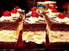 Reteta culinara Prajitura cu mascarpone si fructe din categoria Prajituri. Specific Romania. Cum sa faci Prajitura cu mascarpone si fructe Bread Cake, Dessert Bread, Sweets Recipes, Cake Recipes, Romanian Desserts, Romanian Food, Delicious Desserts, Yummy Food, Homemade Sweets