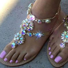 Flat Gladiator Sandals Rhinestones Chains ARISTOCRATIC Bling Sandals, Boho Sandals, Shoes Sandals, Sandals Wedding, Summer Sandals, Flat Gladiator Sandals, Leather Sandals, Mystique Sandals, Sandal Price