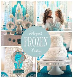 Frozen Party Ideas great post by @sweetlychicdes
