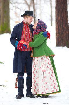 Västergötland costumes, Sweden; Is this from a particular part of Västergötland?