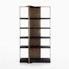Holt Bookcase - CASTE Design Drawer Shelves, Wood Shelves, Shelving Racks, Cabinet Shelving, Sideboard Cabinet, Bookcase Shelves, Storage Cabinets, Cupboards, Sideboard Furniture