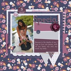 Special Layout Template: Scrap Orchard - Scrapping With Liz - Template 1 Stock photo from Pixabay Unique Flowers, Layout Template, Pink Grey, Digital Scrapbooking, First Love, My Design, Stock Photos, Younique, Scrapbook Layouts