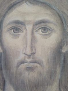 Byzantine Art, Byzantine Icons, Abstract Portrait, Orthodox Icons, Christian Art, Line Drawing, Art Projects, Drawings, Painting