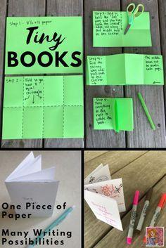 Tiny books are mini