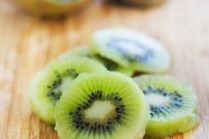 Easy way to peel a kiwi  For Trevor, because he complains that they leave the skin on at hot lunch...lol