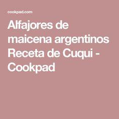 Alfajores de maicena argentinos Receta de Cuqui - Cookpad