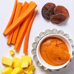 Carrot + Mango + Apricot Puree