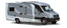 The Burstner Aero Van, a Mercedes Sprinter RV based on a Sprinter 313 CDI cutaway chassis. Born of a wind tunnel...