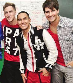 Kendall, Carlos, and James
