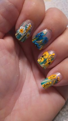Robin Moses Inspired. I love doing this art on my nails, she is my inspiration.
