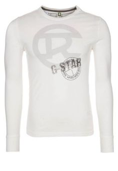 BYRON - Long sleeved top - white