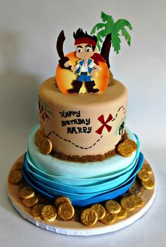 jake and the neverland pirates party ideas - Buscar con Google