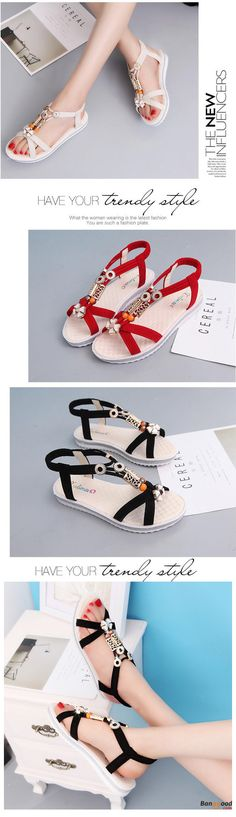 US$15.88+Free shipping. Size(US): 5~8. Color: Black, Beige. Upper Material: Suede. Love casual style! Summer Sandals, Women Flat Sandals, shoes flats, shoes sandals, Casual, Outdoor, Comfortable.