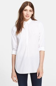 Women's AYR 'The Easy' Shirt, Size Small - White White Small by: AYR @Nordstrom