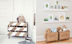 Deixando a casa decorada e sustentável com pallet, caixas e caixotes de madeira!