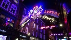 Noël à Londres : studios Potter sous la neige, Winter Wonderland, Windsor Castle, Carnaby, Oxford street... Windsor, Wonderland, Studios, Oxford, Neon Signs, Snow, Oxfords