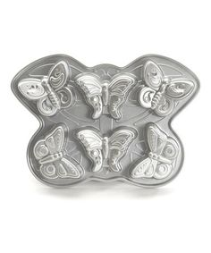 Take a look at this Butterfly Nonstick Cakelet Pan by Nordic Ware on #zulily today!