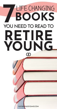 7 Inspiring Financial Books That Will Change Your Life The best inspirational books to read to reach financial freedom and retire young! Learn how to make money work for you with passive income. These books will blow your mind! Financial Tips, Financial Literacy, Inspirational Books To Read, Budget Planer, Finance Books, Money Saving Tips, Money Tips, Money Budget, Budgeting Money