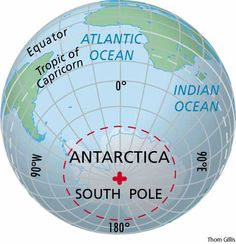 South Pole | ... body south pole the south seeking magnetic pole of a straight magnet