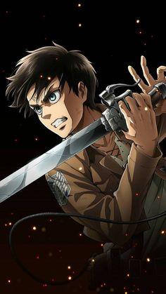 Attack On Titan Episodes, Attack On Titan Eren, Attack On Titan Fanart, Manga Anime, Anime Guys, Anime Art, Logo Anime, Levi X Eren, Levi Ackerman