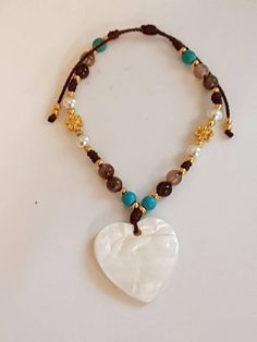 Valentines Gift/Heart Bracelets /Pulsera de Corazón Colgante #heart #fashionbracelets #bohojewelry #bracelets #Cordbracelets #handmadejewelri #pulseras #wholesalejewelry #giftideas #boho#valentinesgift