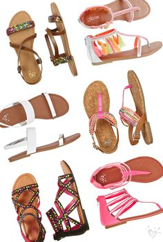 Sandal season is almost here and we are toe-tally excited! Are you ready? #justicestyle
