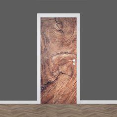 Deursticker Houtnerf. Geef jouw deur een snelle 'make over'. YouPri.nl Door Stickers, Game Room, Adhesive, Louvre, Wallpaper, Poster, Painting, Home Decor, Bedroom