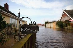 Homes Threatened in Moornlands, England A general view of an owners home that has been affected by flooding on Feb. 9, 2014 in Moorlands, Un...