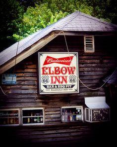 Elbow Inn, Route 66  - Devil's Elbow, Missouri