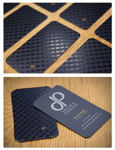 Business Cards | glam | rock | black