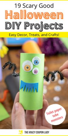 DIY Halloween decorations are just as good as store bought- often even better! These creepy and cute Halloween decor ideas and Halloween treats are easy and cheap to make when you use Dollar Tree supplies. You can have your kids help with most of these Halloween DIYs and even use Dollar Tree supplies for many of these craft ideas. How to make melted crayon pumpkins, flying bats for your walls, Halloween puffy slime, vampire donuts, handprint Frankenstein monsters, and more! Do It Yourself Organization, Craft Organization, Cute Halloween, Halloween Treats, Easy Crafts For Kids, Kid Crafts, Rainy Day Activities For Kids, Homemade Halloween Decorations, Decor Ideas
