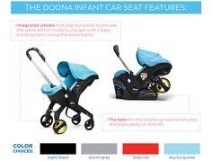 Doona Infant Car Seat Stroller - Magic Beans