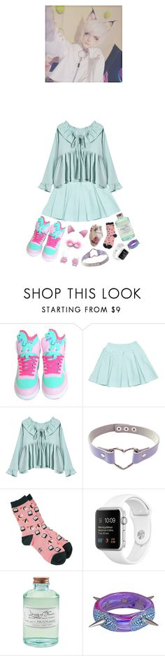 """""""clearing drafts"""" by meep1213 ❤ liked on Polyvore featuring Prada, GET LOST, Sock It To Me, Library of Flowers and Tarina Tarantino"""
