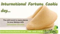 Today is international fortune cookie day. Didn't even know it existed…